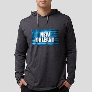 New Orleans Flag Long Sleeve T-Shirt