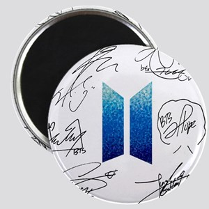 BTS Logo and Autugraphs Magnets