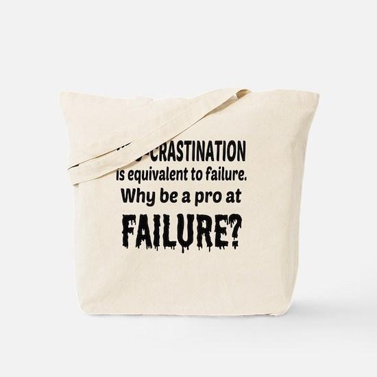 Funny Procrastinating Tote Bag