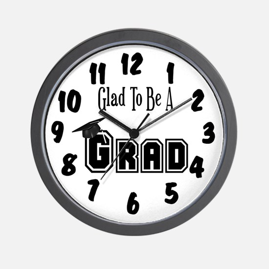 Graduation Wall Clock