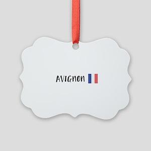 Avignon Picture Ornament