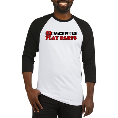 Play Darts Baseball Jersey
