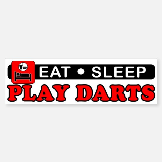 Play Darts Sticker (Bumper)