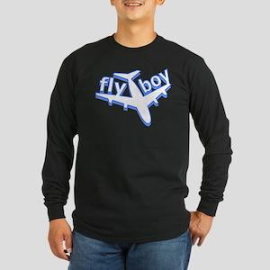 Fly Boy Long Sleeve Dark T-Shirt