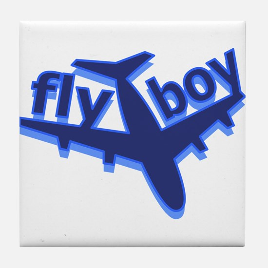 Fly Boy Tile Coaster