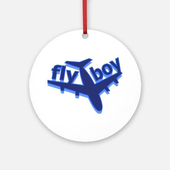 Fly Boy Ornament (Round)