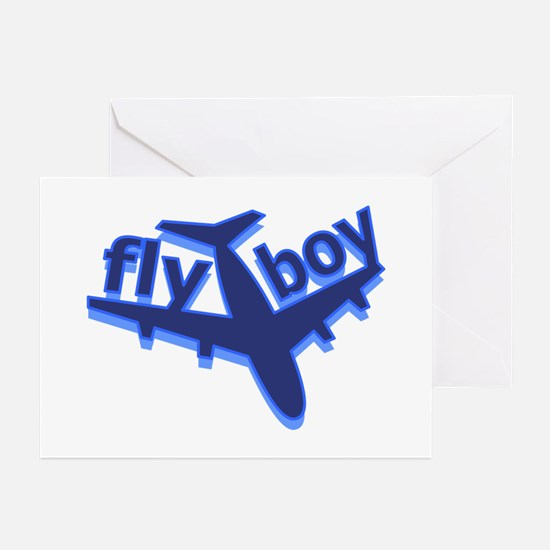 Fly Boy Greeting Cards (Pk of 10)