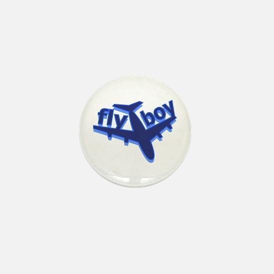 Fly Boy Mini Button