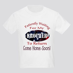 Patiently waiting for my brot Kids Light T-Shirt