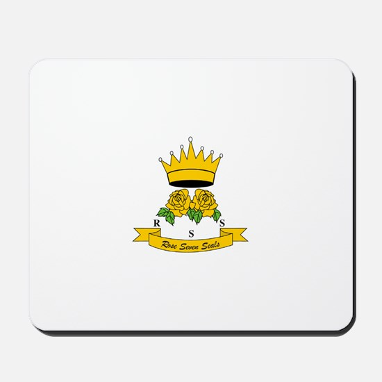 Rose of the Seven Seals Mousepad