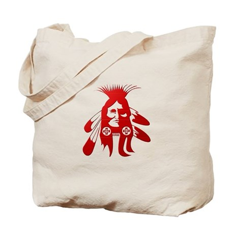 Native American Warrior #2 Tote Bag