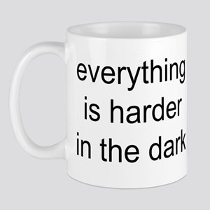 everything is harder in the d Mug