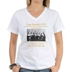 Papal Security Women's V-Neck T-Shirt