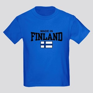 Made In Finland Kids Dark T-Shirt