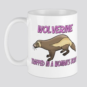 Wolverine Trapped In A Woman's Body Mug