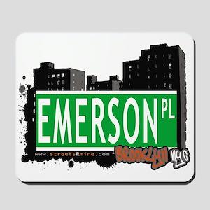 EMERSON PL, BROOKLYN, NYC Mousepad