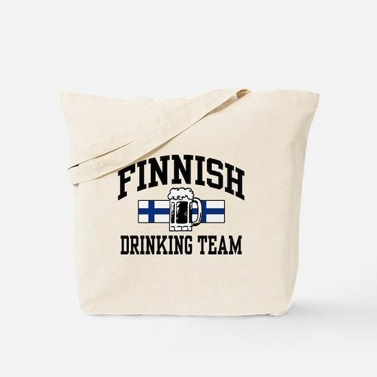 Finnish Drinking Team Tote Bag