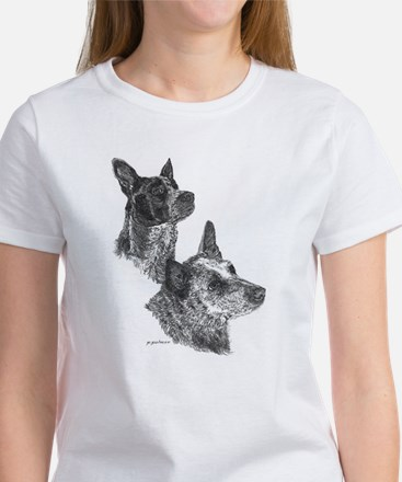 Blue Heeler & Red Heeler - ACD Women's T-Shirt