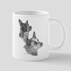 Blue Heeler & Red Heeler - ACD Mug