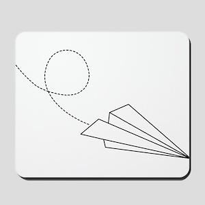 Paper Plane Mousepad