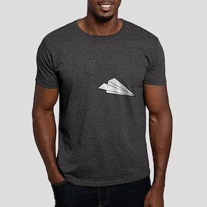 Paper Plane Dark T-Shirt