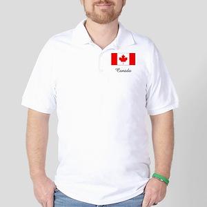 Canada Flag Golf Shirt