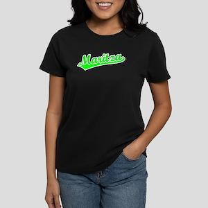 Retro Maritza (Green) Women's Dark T-Shirt
