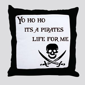 Yo Ho Ho Throw Pillow
