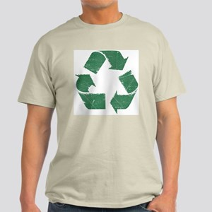 Vintage Green Recycle Sign Light T-Shirt