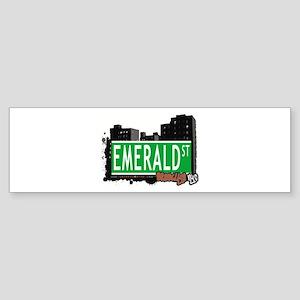 EMERALD ST, BROOKLYN, NYC Bumper Sticker