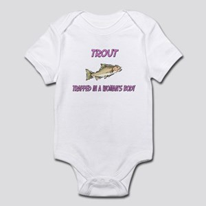 Trout Trapped In A Woman's Body Infant Bodysuit