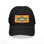 flipoff guy Black Cap