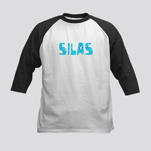 Silas Faded (Blue) Kids Baseball Jersey