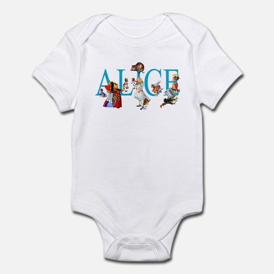 ALICE & FRIENDS IN WONDERLAND Infant Bodysuit