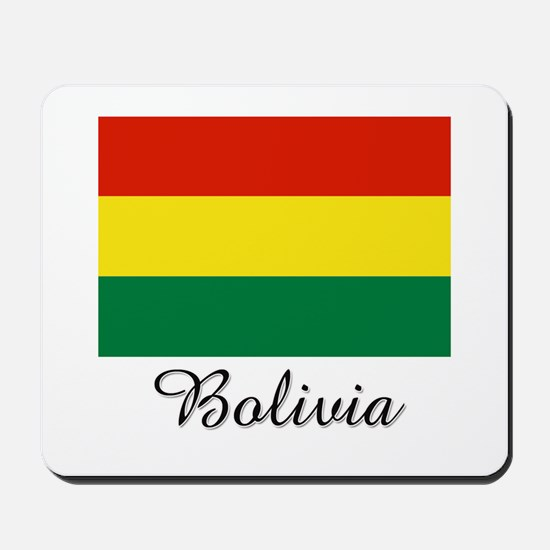 Bolivia Flag Mousepad