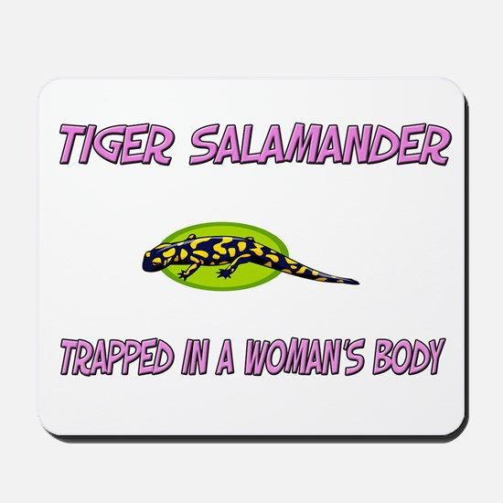 Tiger Salamander Trapped In A Woman's Body Mousepa
