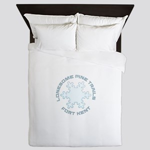 Lonesome Pine Trails - Fort Kent - M Queen Duvet