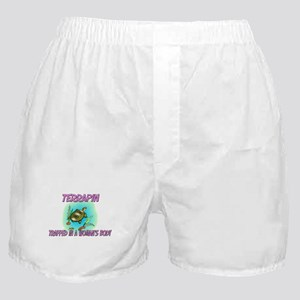Terrapin Trapped In A Woman's Body Boxer Shorts