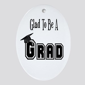 Graduation Oval Ornament
