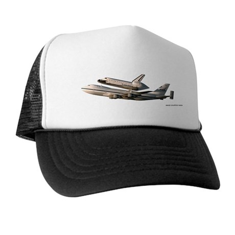 Space Shuttle Piggyback Trucker Hat