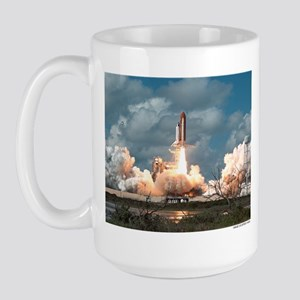 Space Shuttle Launch Large Mug