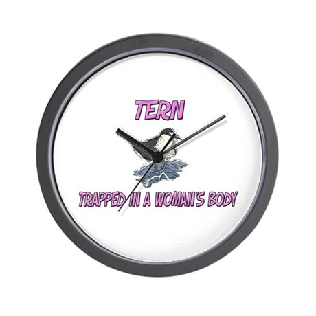 Tern Trapped In A Woman's Body Wall Clock
