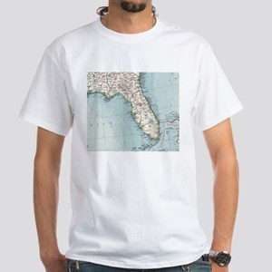 Vintage Map of Florida (1900) T-Shirt
