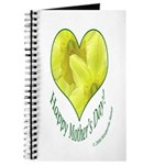 Daffodils in Heart, Mother's Day Journal