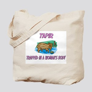 Tapir Trapped In A Woman's Body Tote Bag