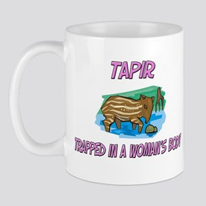 Tapir Trapped In A Woman's Body Mug