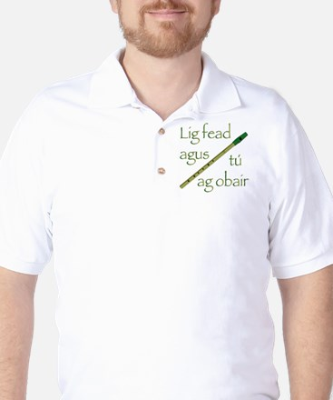 Whistle While You Work Golf Shirt