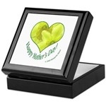 Daffodils in Heart, Mother's Day Keepsake Box