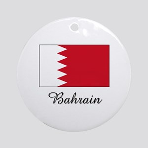 Bahrain Flag Ornament (Round)