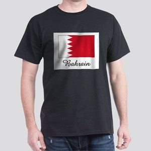 Bahrain Flag Dark T-Shirt
